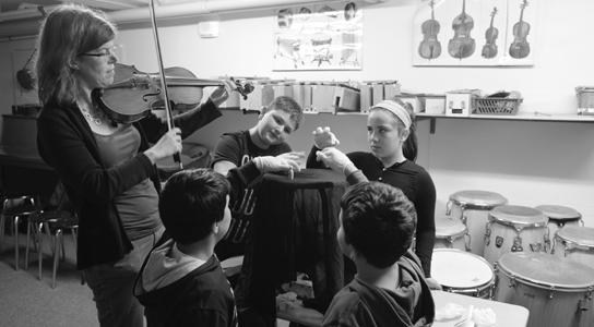 Educationprojekt des Rundfunk-Sinfonieorchester Berlin in der Konrad-Aghad-Schule in Neukölln