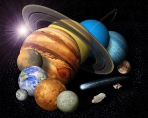 8 1/2 Planeten - Die grosse Tour durchs Sonnensystem.