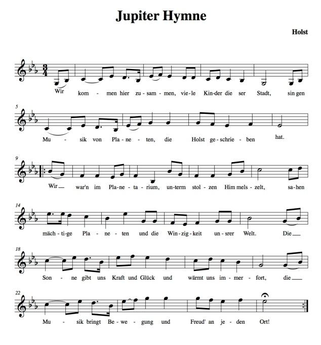 Jupiter Hymne