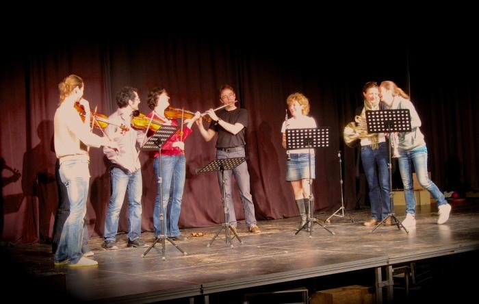 Ein letztes Mal die Hymne mit den RSB Musikern