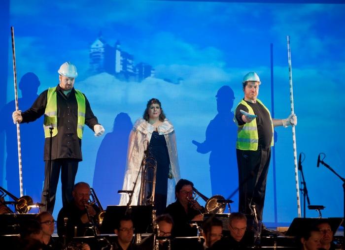 """Rundfunk-Sinfonieorchester Berlin: Familienkonzert """"Der Ring des Niebelungen"""" von Richard Wagner im Atze Musiktheater am 05.04.2014"""