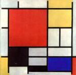 Piet Mondriaan, 1926 - Composition en rouge, jaune, bleu et noir