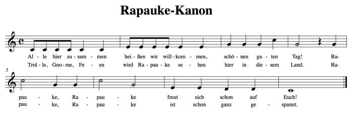 Rapauke-Kanon Feen